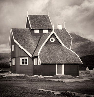 Church Disko Island Greenland