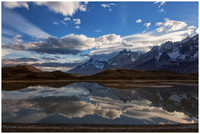 Torres del Paine Reflection, Chile